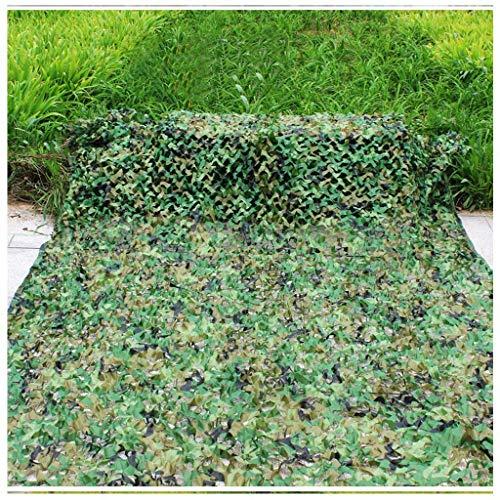 Tent voor verschillende soorten camouflagepatroon, polyester netweefsel, zonwering, stofbescherming, fototent, afmetingen net 6 x 6 m (kleur: F), camouflagenet E