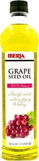 Iberia All Natural Oil, Grapeseed, 34 Fl Oz (Pack of 1)