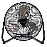 NewAir Floor Fan, 18' High Velocity Industrial Portable Shop Fan with 3 Speed Settings,...