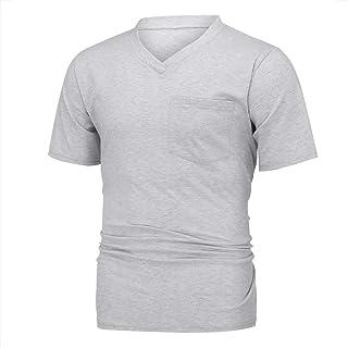 トレーニングウェア 半袖Tシャツ サーマルシャツ vネック 吸汗速乾 インナー 肌着 メンズ 運動スタイル コンプレッションウェア インナートップス ランニングtシャツ アウトドア スウェット 加圧シャツ アンダーシャツ
