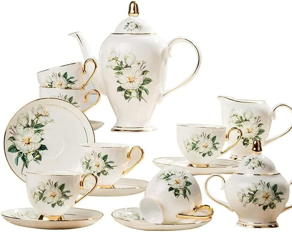 Fashion HUAXUE Teapot Japanese, Fresno Mall Ceramics Coffee Set Saucer with Cup