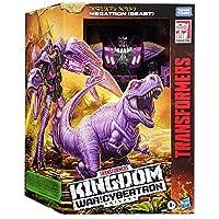 トランスフォーマー ジェネレーションズ 2021 ウォー・フォー・サイバトロン・トリロジー:キングダム リーダー クラス メガトロン / TRANSFORMERS GENERATIONS WAR FOR CYBERTRON TRILOGY : KINGDOM Leader Class MEGATRON ビーストウォーズ KD 恐竜 [並行輸入品]
