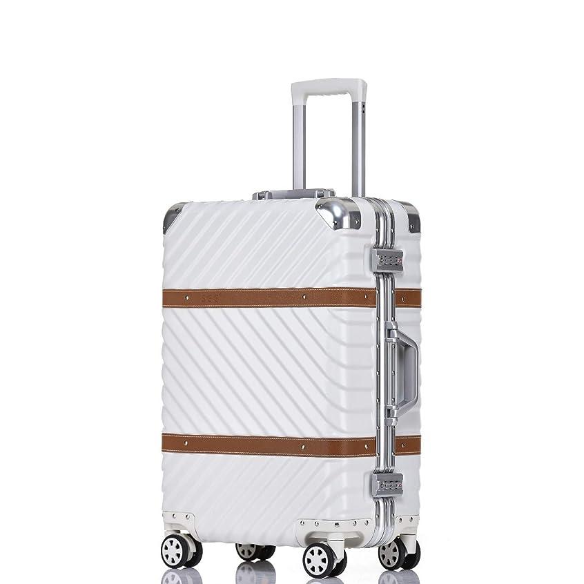 生物学さようなら単独で(アスボーグ)ASVOGUE スーツケース キャリーケース TSAロック搭載 旅行 出張 復古 8輪 超軽量 機内持込可