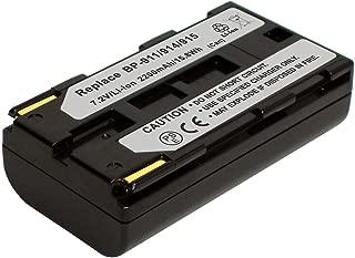 PowerSmart 7.2V 2200mAh Li-ion Replacement BP-911, BP-911K, BP-914, BP-915 Battery for CANON C2, DM-MV1, DM-MV10, E1, E2, E30, FV1, GL1, GL2, Optura Pi, Optura, Ultura, Vistura, XL H1A, XL H1S camcorder