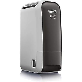 DeLonghi Tasciugo AriaDry Light DNS80 Deshumidificador, Extracción 7.5 L/d , Depósito 2.8L, Pantalla LCD, Filtro ...