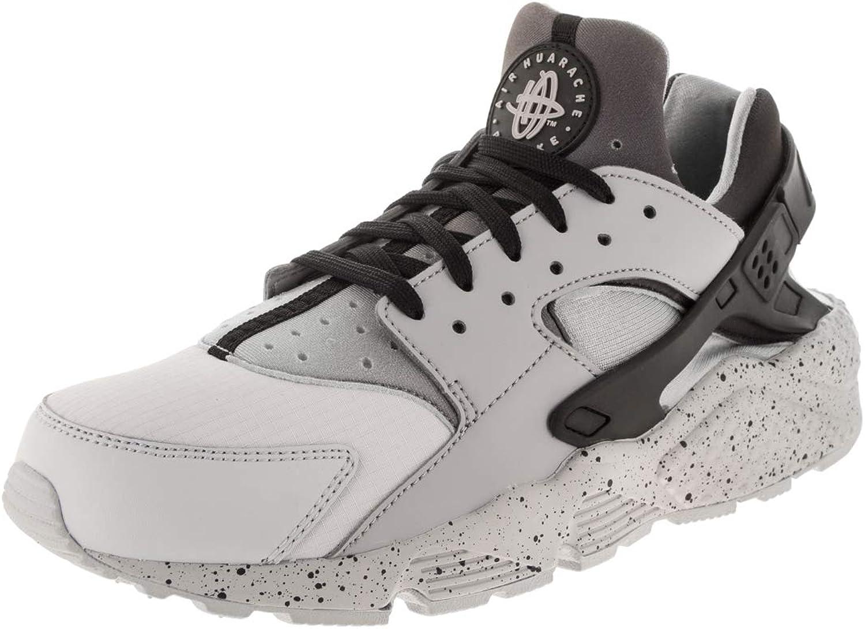 Nike NIKE704830-011 Air, Huarache, PRM, Laufschuh, reines Platin wolfgrau schwarz, Herren, 704830-011 Herren