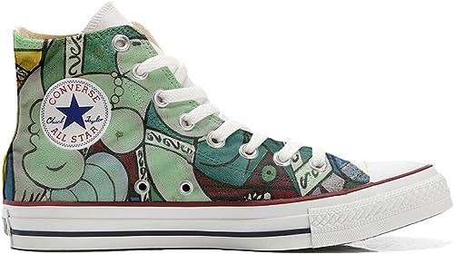 Converse All Star zapatos Personalizados (Producto Handmade) artístico