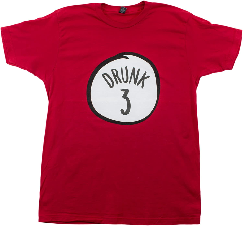 Drunk 3   Funny Drinking Team, Group Halloween Costume Unisex T-Shirt