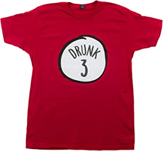 Drunk 3 | Funny Drinking Team, Group Halloween Costume Unisex T-Shirt