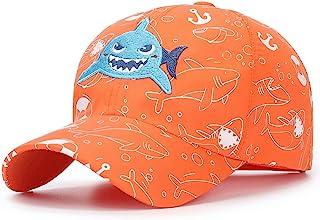 Home Prefer Toddler Boys Baseball Hat Lightweight Quick Drying Sun Protection Hat Summer Beach Hat Orange