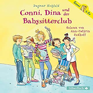 Conni, Dina und der Babysitterclub audiobook cover art