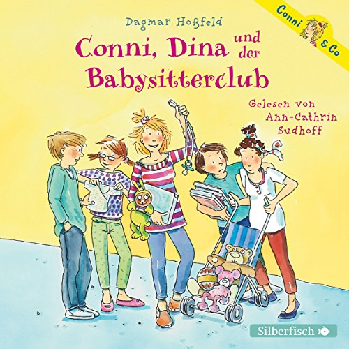 Conni, Dina und der Babysitterclub (Conni & Co 12) audiobook cover art
