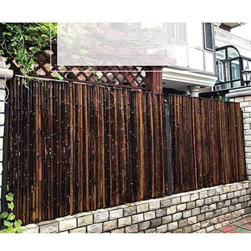 GZHENH Cercado De Jardín, Pantalla De Jardín Valla De Bambú Durable Alto Brillo Panel De Privacidad A Prueba De Viento Proteccion Solar, 2 Colores, 3 Tamaños (Color : B, Size : 100x120cm)