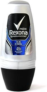 Rexona レクソナ 男性用 制汗 デオドラント ロールオン 50ml 5本セット (アイス?クール) [並行輸入品]