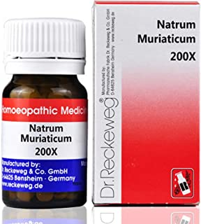 Dr. Reckeweg Homeopathy Natrum Muriaticum (20gm) (Select Potency) by USAMALL (12X)