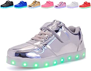 Kids USB Charging Light Up LED Shoes Flashing Sneakers for Boys Girls Walking Shoes Luminous