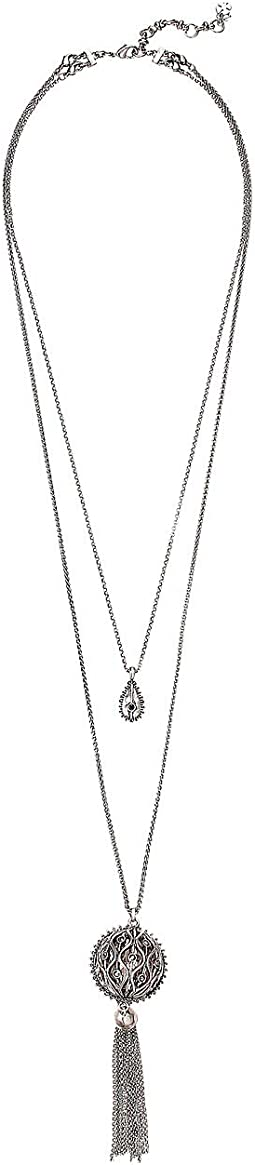 Pave Fringe Layer Necklace