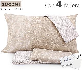 Set Lenzuola Matrimoniali Bassetti.Amazon It Lenzuola Matrimoniali Zucchi Bassetti