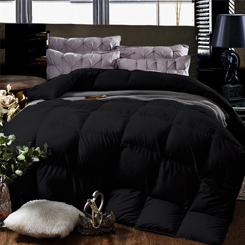 Cheeerrrs Black Down Alternative half Lightweight Max 77% OFF C Bedding Comforter