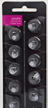 Oticon MiniFit Single Vent Bass Domes: 10-pack (Medium 8mm) by Oticon