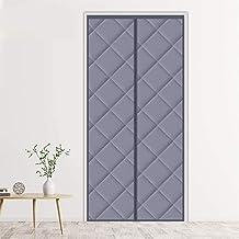 Winddicht thermo-deurgordijn, warmtewerend gordijn, magneet, 70 x 210 cm, geluidsisolerend effect, gemakkelijk te monteren...