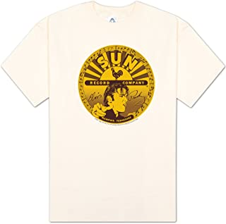 Sun Records Elvis Full Sun Label Cream Adult T-Shirt