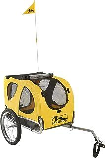 M-Wave Pet Remolque de Perro para acoplar a la Bicicleta, Unisex, Amarillo