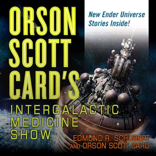 Orson Scott Card's Intergalactic Medicine Show audiobook cover art