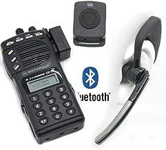 Bluetooth Wireless Adaptor +PTT Headset for Motorola GP68 CP200 GP88 Radio HB-6A