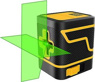 Sponsored Ad – Laser Level Cross Line Laser Level Horizontal Vertical Points Rotatable 360 Degree Laser Level Manual/Self-...
