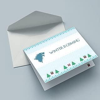 Nerd Cards - Winter is Coming - Die Weihnachtskarte für Nerds, Geeks & Filmfans