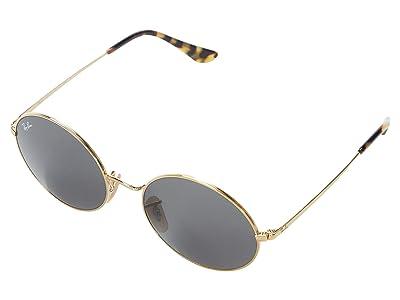 Ray-Ban 54 mm RB1970 Oval Metal Sunglasses