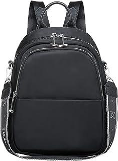 KAUKKO Rucksack Damen Klein, Modern Handtasche,Lässig Daypack mit Vielen fächern,Tote Bag, Wasserdicht,9L