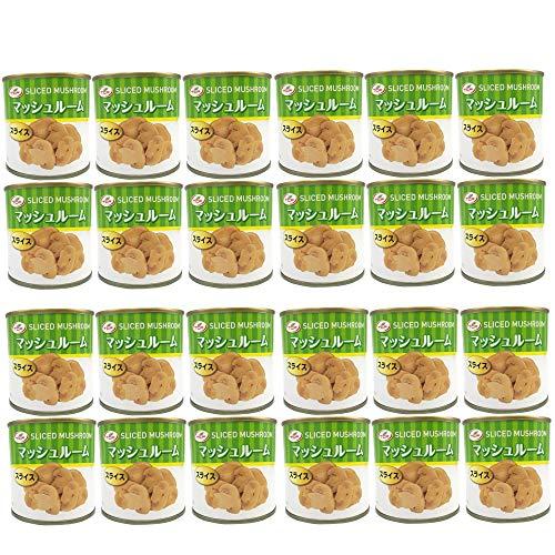 TCF マッシュルーム缶 スライス (184gx24缶) 缶詰 マッシュルーム 缶詰め 業務用 まとめ買い