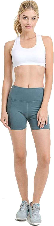 Mind code Women's High Waist Tummy Control Workout & Training Shorts