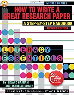 How to Write a Great Research Paper: A Step-by-Step Handbook