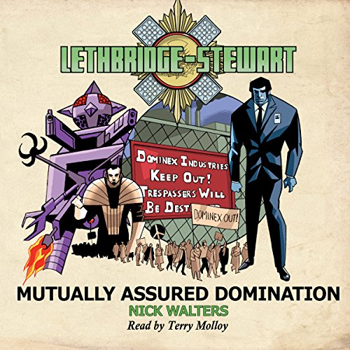 Lethbridge-Stewart: Mutually Assured Domination cover art
