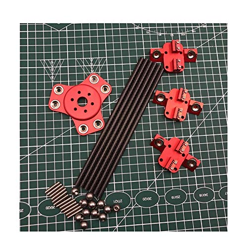 Kossel XL Magnetic Effect + Carriage + Carbon Tube Diagonal Tappet Kit para DIY Impresora Delta Kossel 3D