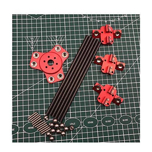 Kossel XL Magneteffekt + Schlitten + Carbonrohr Diagonalstößel-Kit für DIY Delta Kossel 3D-Drucker