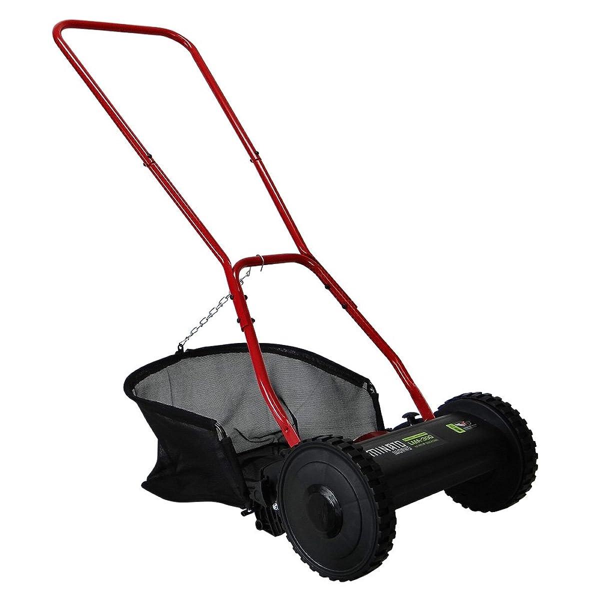 一緒財団ラリーミナトワークス 手押し芝刈り機 ブラック (リール式5枚刃/刈幅300mm) LMA-300(BK)