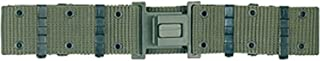 Military Outdoor Clothing Previously Issued U.S. G.I. Olive Drab Medium Pistol Belt with Plastic Olive Drab Buckle