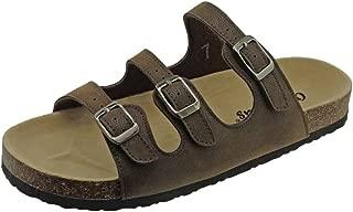 OUTWOODS Women's Bork-43 3-Strap Sandal
