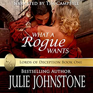 What a Rogue Wants audiobook cover art