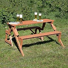 Holzbank Tisch