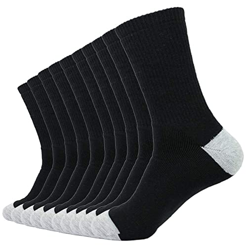 Essentials 10-Pack Cotton Cushioned Ankle Socks Donna