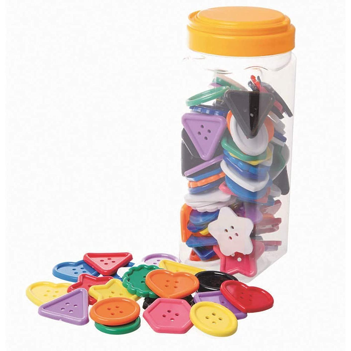 S&S Worldwide Assorted Large Buttons (Set of 90)
