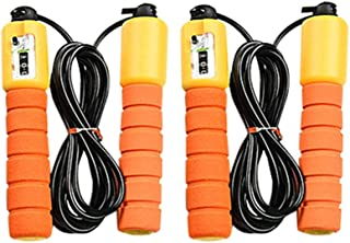 Klions Skipping Rope (3M/10ft) Cardio Home Gyms Digital Counting Fitness Jump Rope Kids Women Men Skipping Ropes for Boxing Training Skipping Weight Loss Exercise Workout