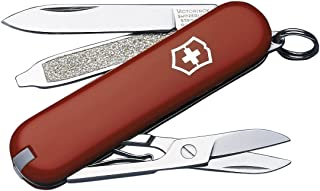 Victorinox 0.6223.033 Swiss Army Knife Classic SD, Red, 58mm