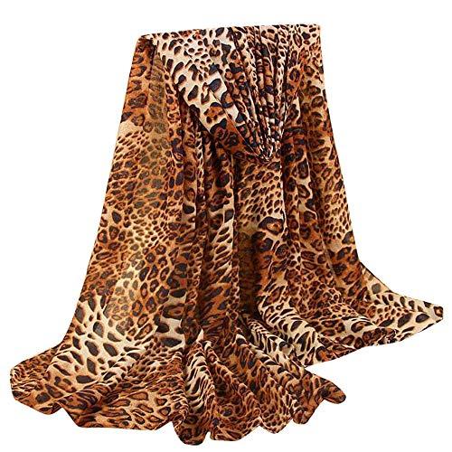 FRAUIT dames Classic luipaard sjaal katoen en linnen mode Wild kant sjaal sjaal stola omslagdoek natuurvezel weelderig patroon in harmonieuze kleuren met franjes