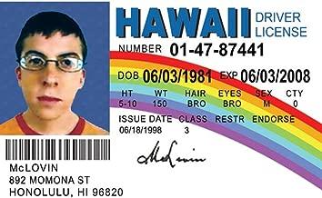 Signs 4 Fun NMLID McLovin Id License's Driver's License